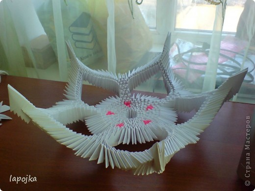 Мастер-класс Оригами модульное: Ваза с бабочками Бумага. Фото 16
