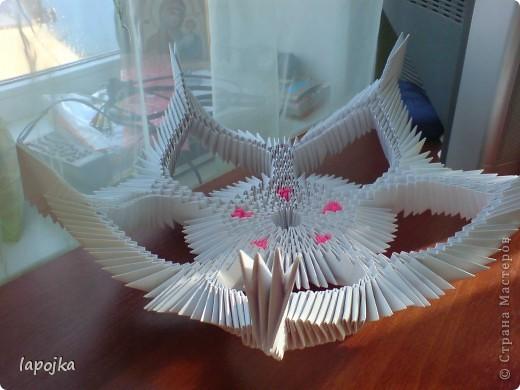 Мастер-класс Оригами модульное: Ваза с бабочками Бумага. Фото 17