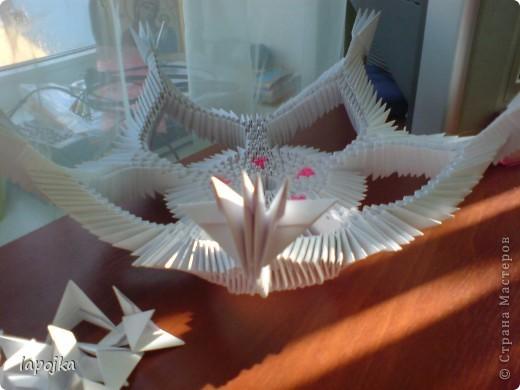 Мастер-класс Оригами модульное: Ваза с бабочками Бумага. Фото 18