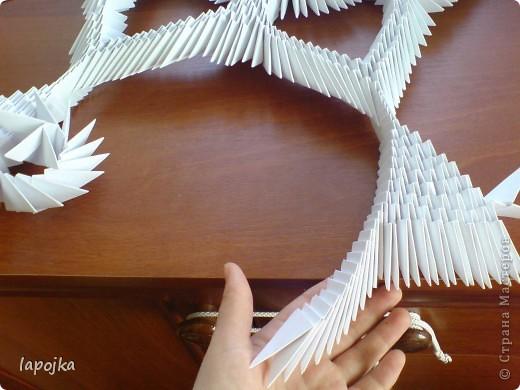 Мастер-класс Оригами модульное: Ваза с бабочками Бумага. Фото 20
