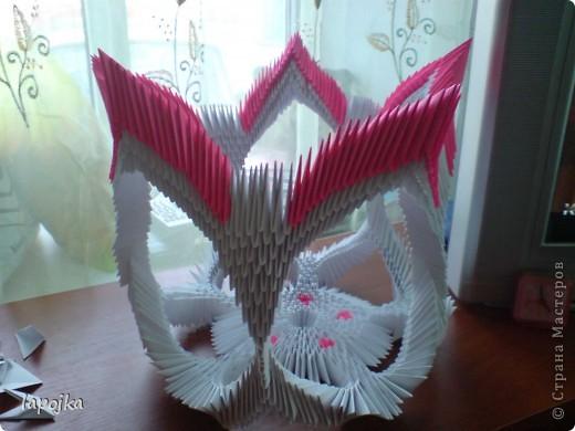 Мастер-класс Оригами модульное: Ваза с бабочками Бумага. Фото 23