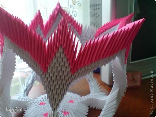 Мастер-класс Оригами модульное: Ваза с бабочками Бумага. Фото 24