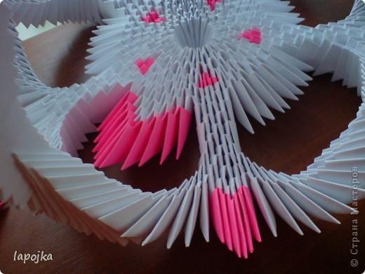 Мастер-класс Оригами модульное: Ваза с бабочками Бумага. Фото 25