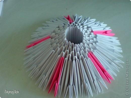 Мастер-класс Оригами модульное: Ваза с бабочками Бумага. Фото 6