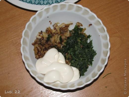 Кулинария, Рецепт кулинарный, : Шампиньоны фаршированные. МК Продукты пищевые . Фото 16