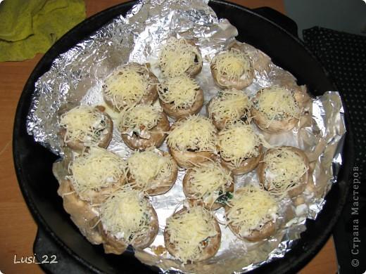 Кулинария, Рецепт кулинарный, : Шампиньоны фаршированные. МК Продукты пищевые . Фото 18