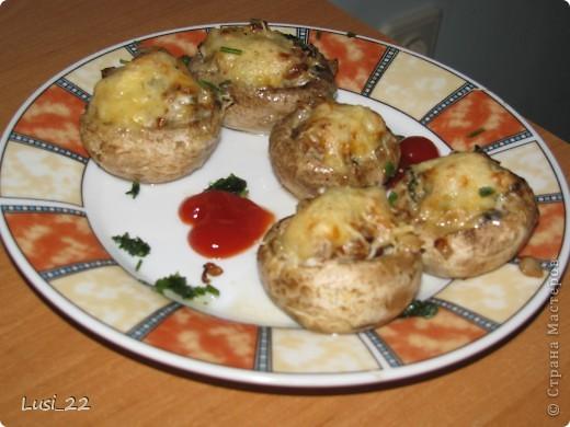 Кулинария, Рецепт кулинарный, : Шампиньоны фаршированные. МК Продукты пищевые . Фото 20