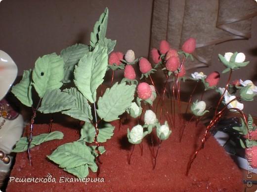 Мастер-класс, Лепка, : Земляничка Тесто соленое . Фото 5