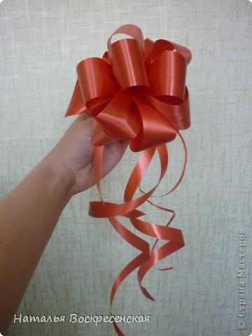 Мастер-класс, Упаковка Моделирование: Банты для подарков Ленты. Фото 11