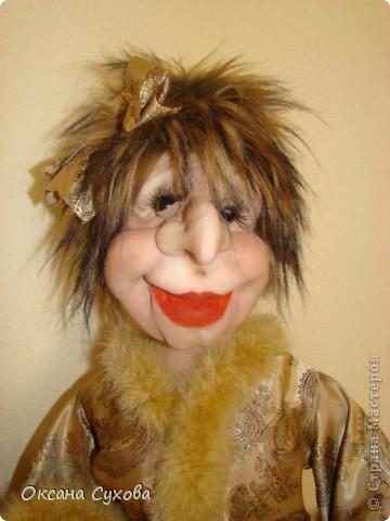 Куклы Шитьё: Модам Брошкина или Наталья Дурова Капрон. Фото 1