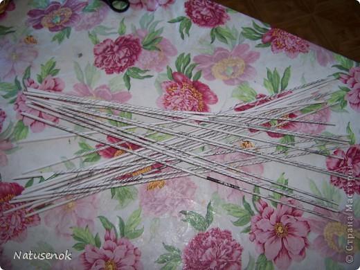 Мастер-класс,  Плетение, : Пасхальная плетенка Бумага газетная Пасха, . Фото 6