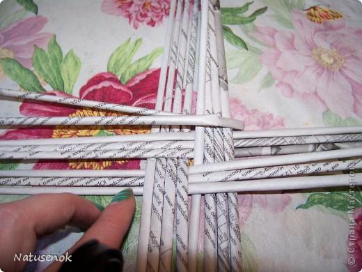 Мастер-класс,  Плетение, : Пасхальная плетенка Бумага газетная Пасха, . Фото 10