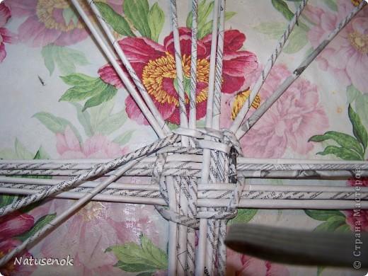 Мастер-класс,  Плетение, : Пасхальная плетенка Бумага газетная Пасха, . Фото 12
