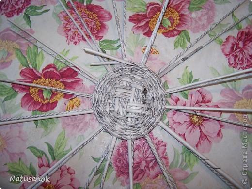 Мастер-класс,  Плетение, : Пасхальная плетенка Бумага газетная Пасха, . Фото 13
