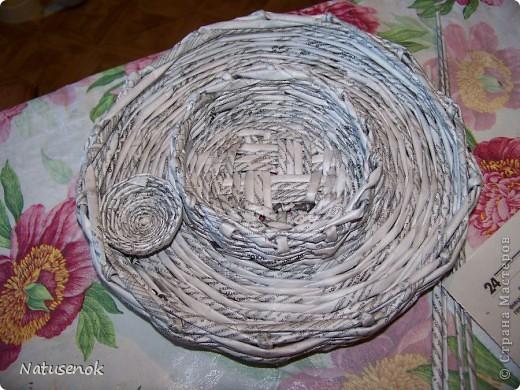 Мастер-класс,  Плетение, : Пасхальная плетенка Бумага газетная Пасха, . Фото 30