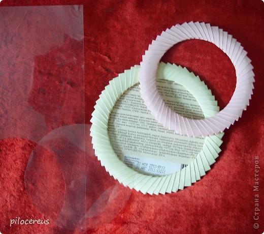 Интерьер, Мастер-класс, Поделка, изделие Оригами модульное, : Фото-рамка из модулей Бумага . Фото 3