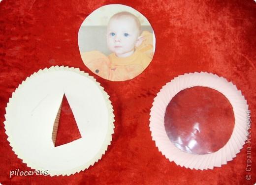 Интерьер, Мастер-класс, Поделка, изделие Оригами модульное, : Фото-рамка из модулей Бумага . Фото 7