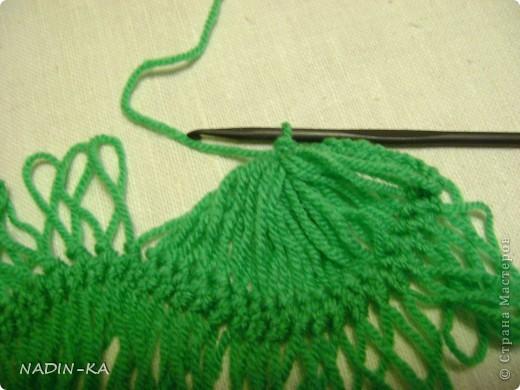 Гардероб, Мастер-класс,  Вязание, Вязание крючком, : МК вязание на вилке. 1 Нитки, Пряжа . Фото 14