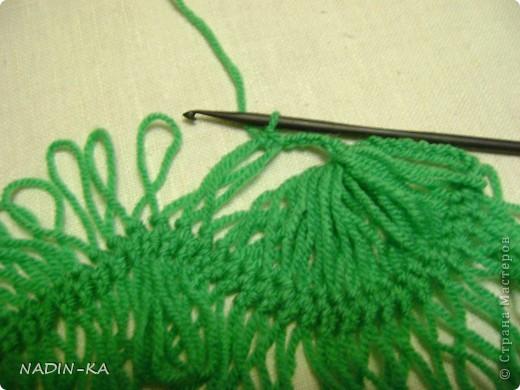 Гардероб, Мастер-класс,  Вязание, Вязание крючком, : МК вязание на вилке. 1 Нитки, Пряжа . Фото 15