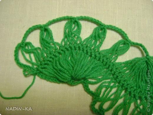 Гардероб, Мастер-класс,  Вязание, Вязание крючком, : МК вязание на вилке. 1 Нитки, Пряжа . Фото 17