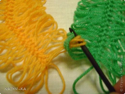 Гардероб, Мастер-класс,  Вязание, Вязание крючком, : МК вязание на вилке. 1 Нитки, Пряжа . Фото 8