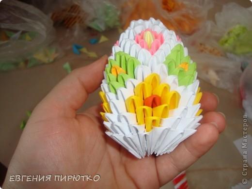 пасхальное яйцо+ МК Бумага