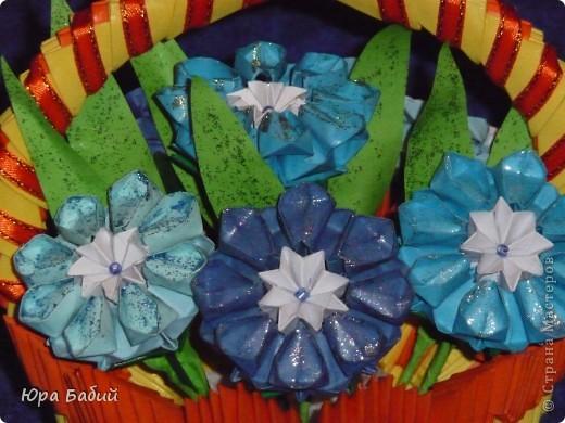 Корзины с цветами Бумага