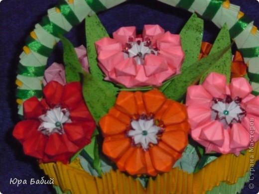 Я делал эти корзины с цветами