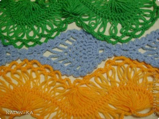 Гардероб, Мастер-класс,  Вязание, Вязание крючком, : МК вязание на вилке. 1 Нитки, Пряжа . Фото 27