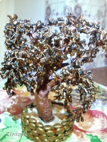 Мастер-класс,  Моделирование, : Моё первое деревце из плостиковой бутылки.МК. Бутылки . Фото 23