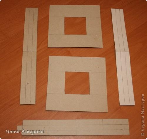 набор (рамка и коробочка