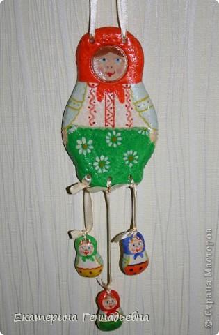 Мастер-класс,  Лепка, : Красавица - Матрёшка Тесто соленое . Фото 1