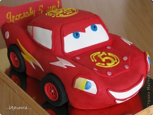 Торт Машина - Бесплатная