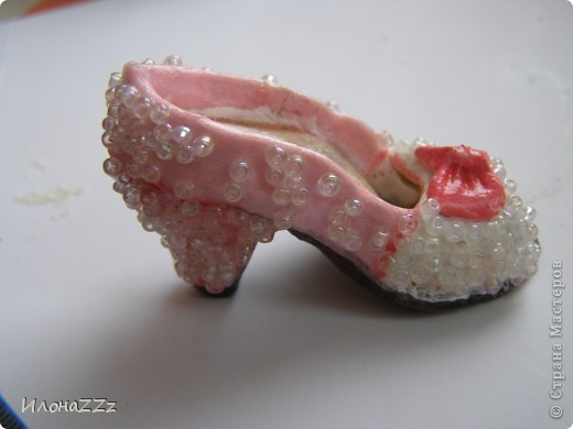 Мастер-класс,  Лепка, : сам себе дизайнер обуви Тесто соленое Новый год, . Фото 2