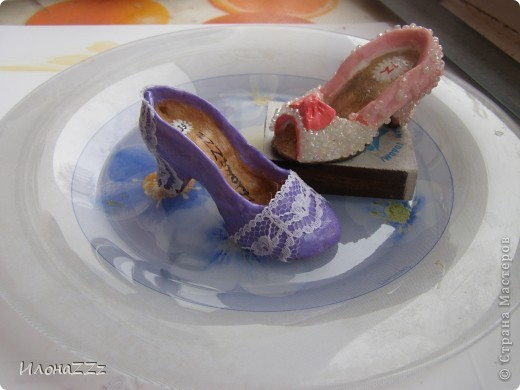 Мастер-класс,  Лепка, : сам себе дизайнер обуви Тесто соленое Новый год, . Фото 1