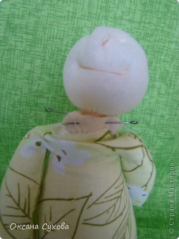 Куклы, Мастер-класс,  Шитьё, : Мастер класс  кукла Тётушка Ткань . Фото 24