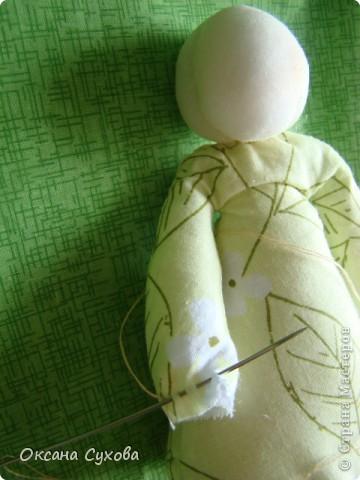 Куклы, Мастер-класс,  Шитьё, : Мастер класс  кукла Тётушка Ткань . Фото 29
