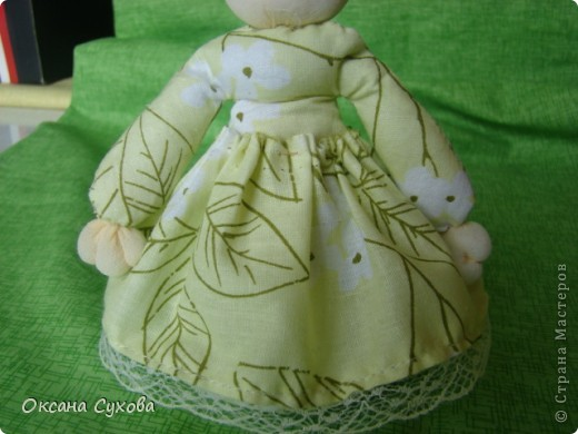 Куклы, Мастер-класс,  Шитьё, : Мастер класс  кукла Тётушка Ткань . Фото 34