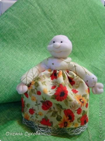 Куклы, Мастер-класс,  Шитьё, : Мастер класс  кукла Тётушка Ткань . Фото 37