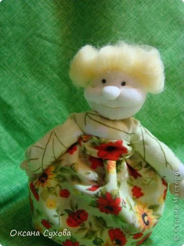 Куклы, Мастер-класс,  Шитьё, : Мастер класс  кукла Тётушка Ткань . Фото 43