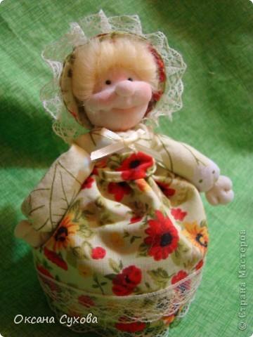 Куклы, Мастер-класс,  Шитьё, : Мастер класс  кукла Тётушка Ткань . Фото 44