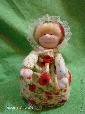 Куклы, Мастер-класс,  Шитьё, : Мастер класс  кукла Тётушка Ткань . Фото 45