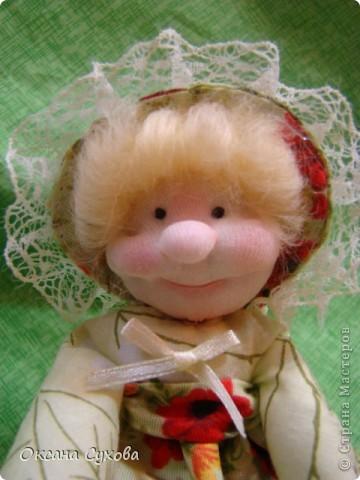 Куклы, Мастер-класс,  Шитьё, : Мастер класс  кукла Тётушка Ткань . Фото 47