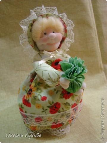 Куклы, Мастер-класс,  Шитьё, : Мастер класс  кукла Тётушка Ткань . Фото 48