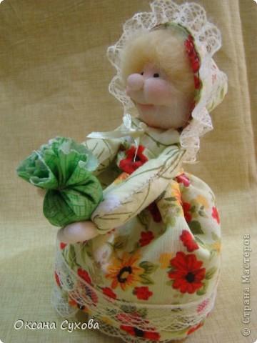 Куклы, Мастер-класс,  Шитьё, : Мастер класс  кукла Тётушка Ткань . Фото 49