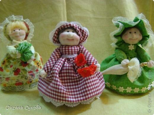 Куклы, Мастер-класс,  Шитьё, : Мастер класс  кукла Тётушка Ткань . Фото 52