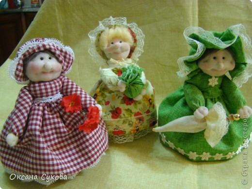 Куклы, Мастер-класс,  Шитьё, : Мастер класс  кукла Тётушка Ткань . Фото 53