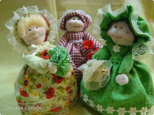 Куклы, Мастер-класс Шитьё: Мастер класс  кукла Тётушка Ткань. Фото 1