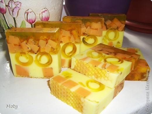 Мастер-класс Мыловарение: Медовое мыло... МК Мыло. Фото 1