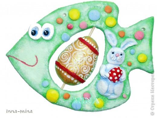 Поделка, изделие Лепка: Солонушки раскрашенные Тесто соленое. Фото 1